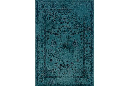 94X130 Rug-Kateri Turquoise