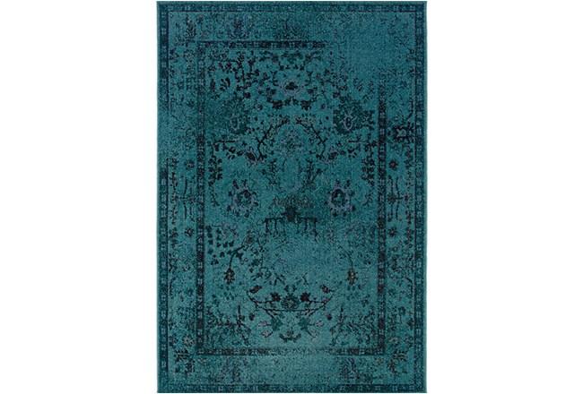 94X130 Rug-Kateri Turquoise - 360