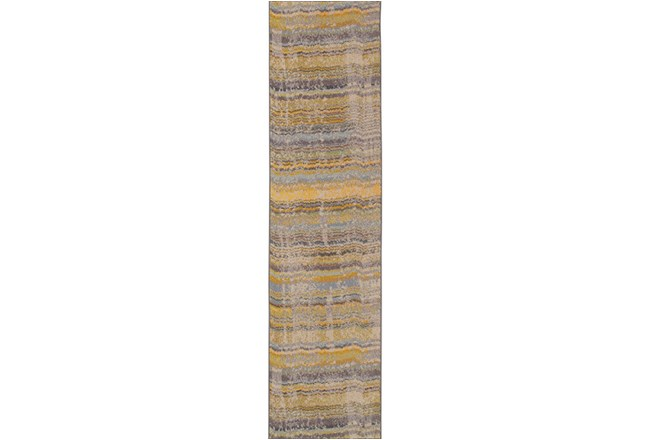 31X120 Rug-Ravi Stripes Blue - 360