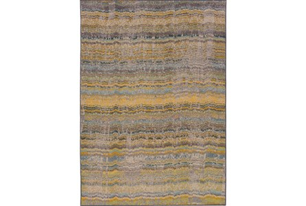 48X69 Rug-Ravi Stripes Blue