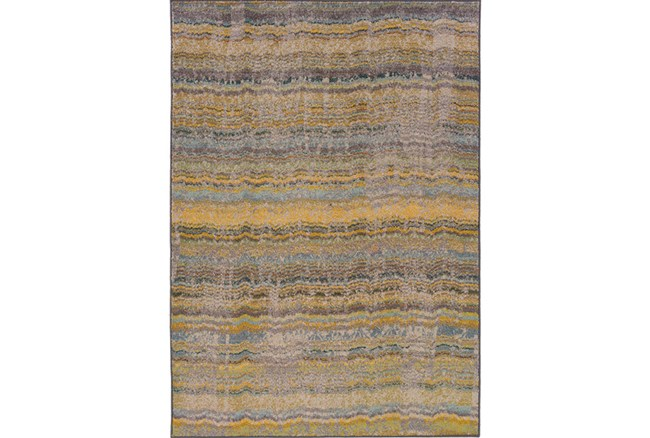 48X69 Rug-Ravi Stripes Blue - 360