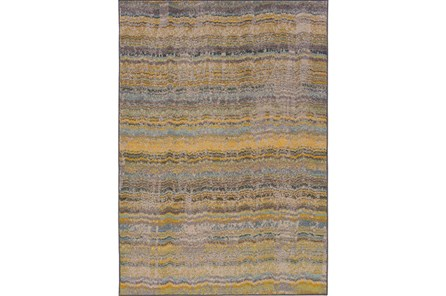 79X109 Rug-Ravi Stripes Blue