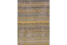 94X130 Rug-Ravi Stripes Blue