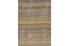 94X130 Rug-Ravi Stripes Blue