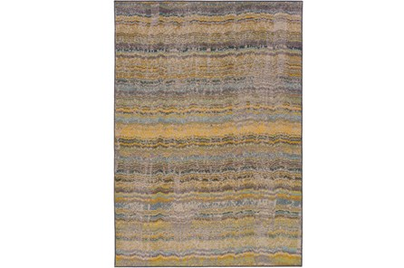 63X90 Rug-Ravi Stripes Blue - Main