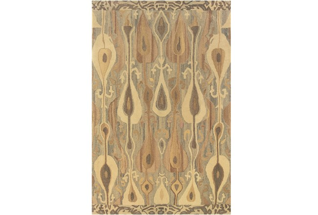 96X120 Rug-Foxtail Taupe - 360
