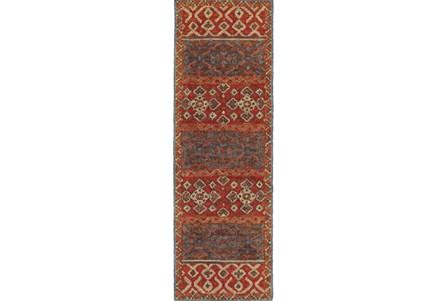 30X96 Rug-Ahmet Crimson