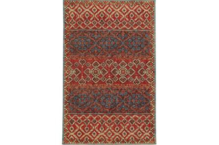96X120 Rug-Ahmet Crimson