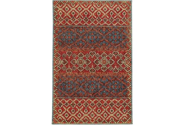 120X156 Rug-Ahmet Crimson - 360