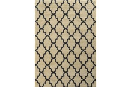 118X154 Rug-Clarence Graphite Trellis