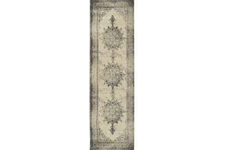 27X90 Rug-Picabo Charcoal - Main