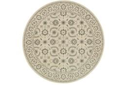 94 Inch Round Rug-Corinthian Taupe
