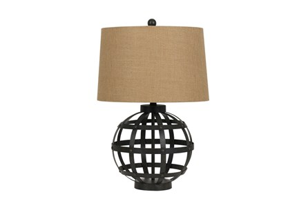 Table Lamp-Iron Globe