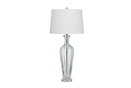 Table Lamp-Tulip Glass