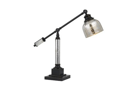 Desk Lamp-Mercury Glass