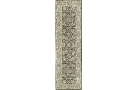 27X90 Rug-Guinevere Charcoal