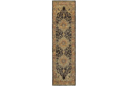 27X96 Rug-Tandy Gold