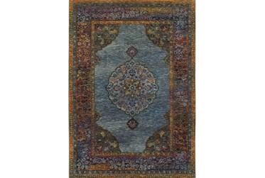 """3'3""""x5'2"""" Rug-Harriet Moroccan Blue"""