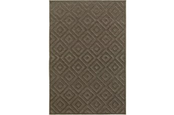 46X65 Rug-Claudia Charcoal Diamonds