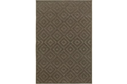 79X114 Rug-Claudia Charcoal Diamonds