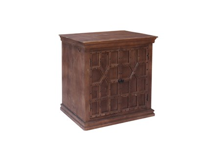 Walnut Finish 2-Door Server