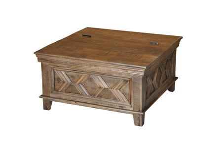Mason Finish Square Coffee Table