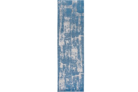 27X94 Rug-Denim Burnout