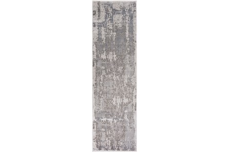 24X43 Rug-Silver Burnout - Main