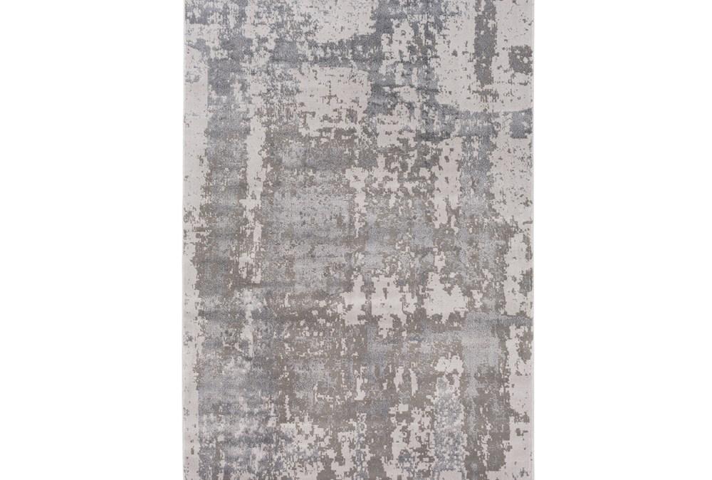 63X87 Rug-Silver Burnout