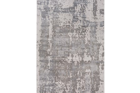 94X122 Rug-Silver Burnout - Main