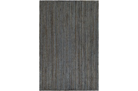 48X72 Rug-Denim Jute - Main
