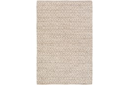 24X36 Rug-Diamond Stripe Taupe