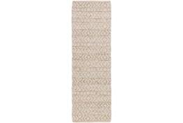 30X96 Rug-Diamond Stripe Taupe