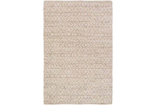 48X72 Rug-Diamond Stripe Taupe - 360