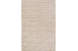 72X108 Rug-Diamond Stripe Taupe