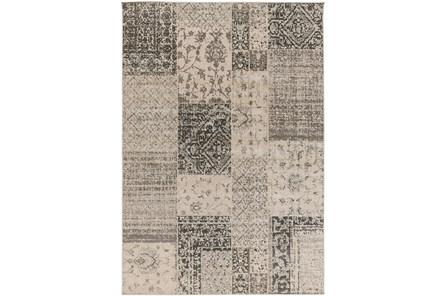 26X48 Rug-Grey Patchwork - Main