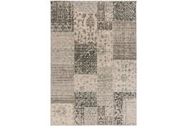 64X92 Rug-Grey Patchwork
