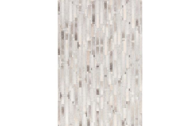 2'x3' Rug-Grey Modern Stripes Hide - 360