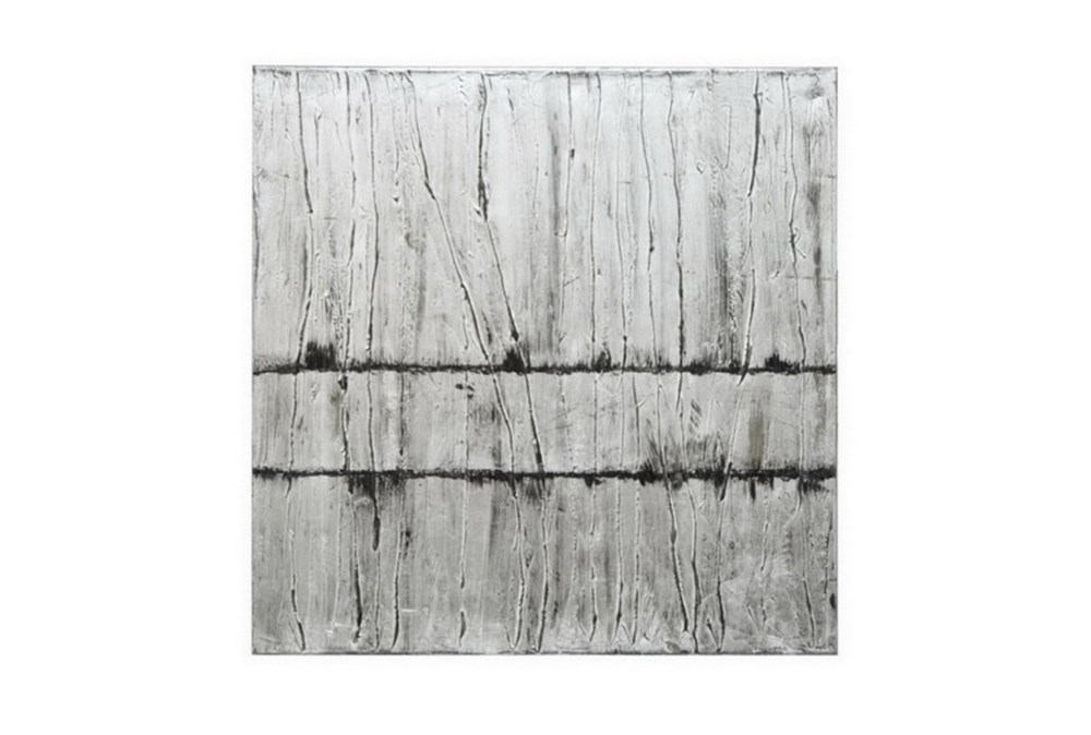 Picture-Silver Texture Abstract 30X30