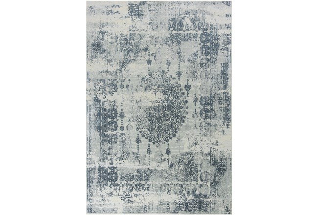 91X122 Rug-Antique Grey - 360