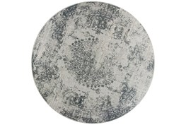 """7'6"""" Round Rug-Antique Grey"""