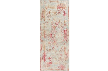 26X95 Rug-Antique Red