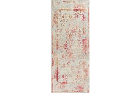 26X95 Rug-Antique Red