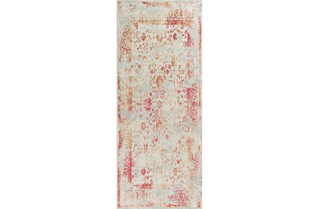 26X95 Rug-Antique Red - Main