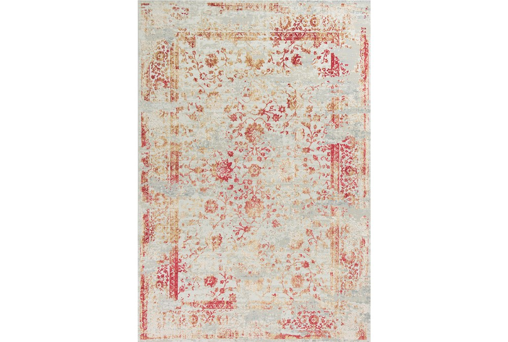 39X59 Rug-Antique Red