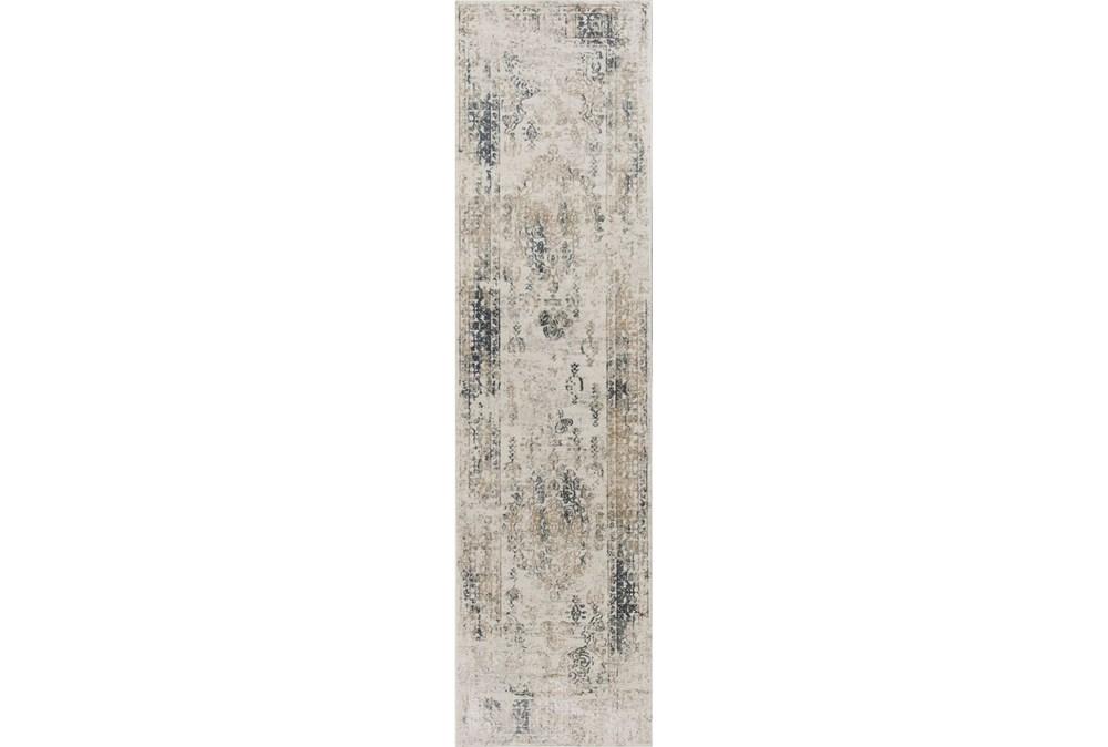 26X95 Rug-Antique Graphite