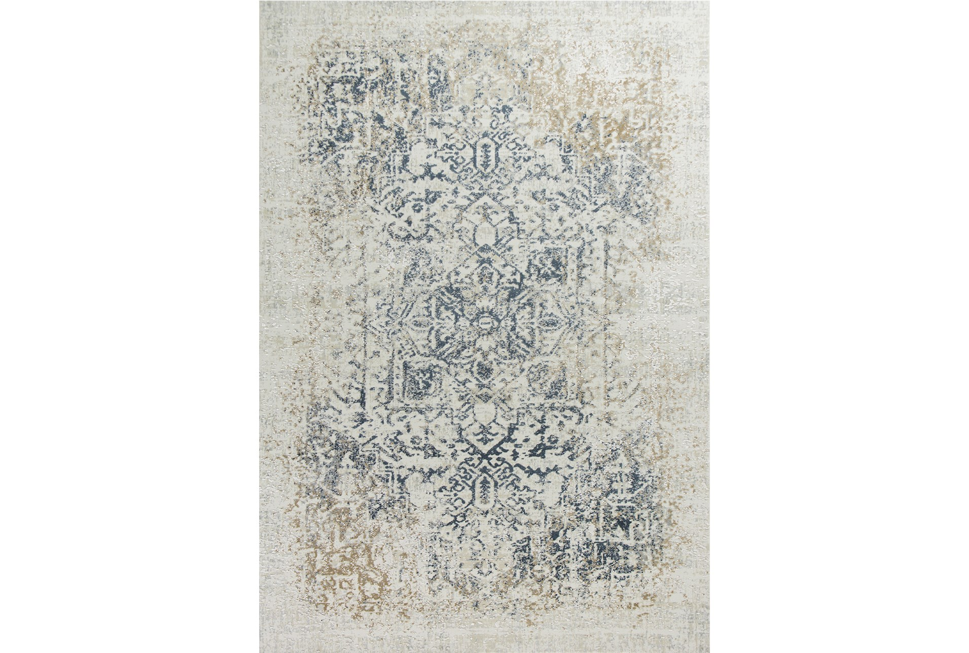91x122 Rug Antique Graphite Living Spaces