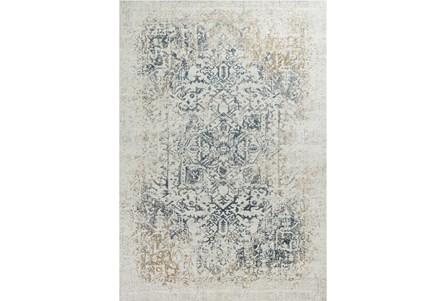 91X122 Rug-Antique Graphite