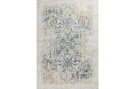 91X122 Rug-Antique Graphite - Main