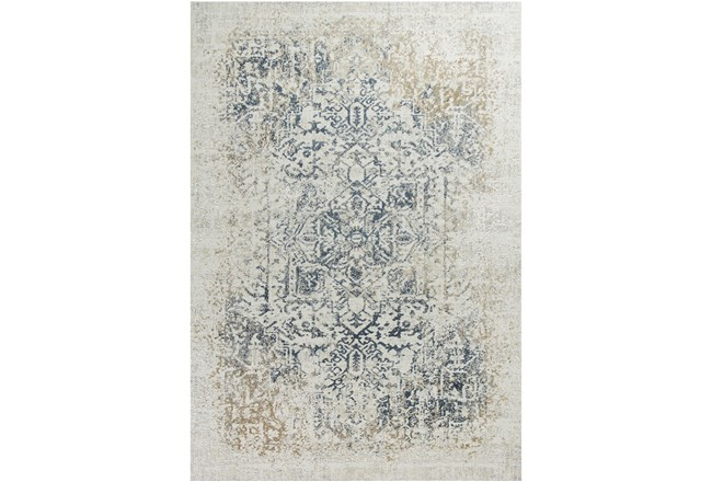 91X122 Rug-Antique Graphite - 360